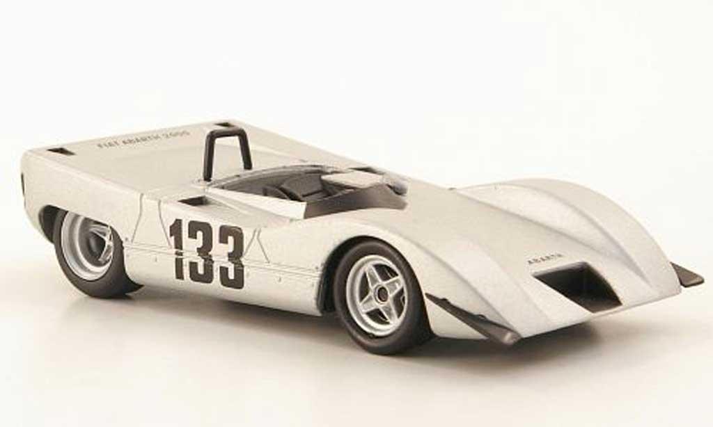 Abarth 2000 Sport Spider 1/43 Hachette Sport Spider (SE014) No.133 Cuneo 1969 miniature