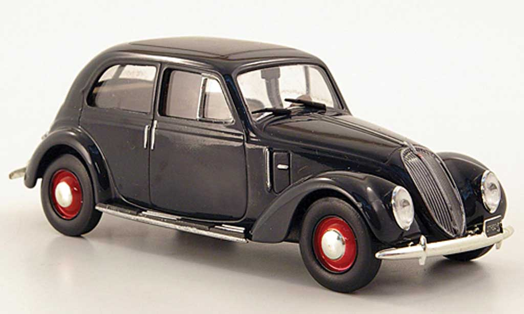 Fiat 1500 1/43 Hachette 6C grise 1935 miniature