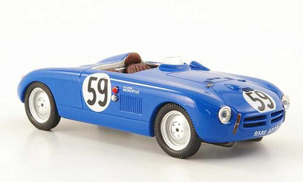 Panhard X84 1/43 Bizarre No.59 Ecurie Monopole 24h Le Mans 1952 miniature