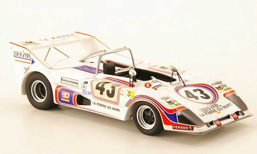 Lola T292 1/43 Bizarre Simca-Chrysler-ROC No.43 24h Le Mans 1974 miniature