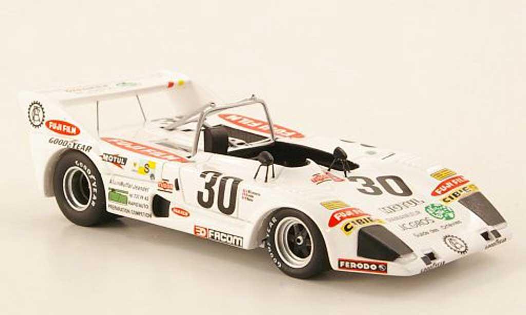 Lola T292 1/43 Bizarre Simca-Chrysler-JRD No.30 Fuji Film  24h Le Mans 1975 miniature