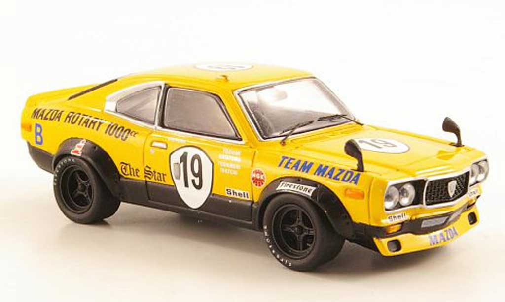 Mazda RX3 1/43 Bizarre S102 Wankel No.19 Kyalami 1972 miniature