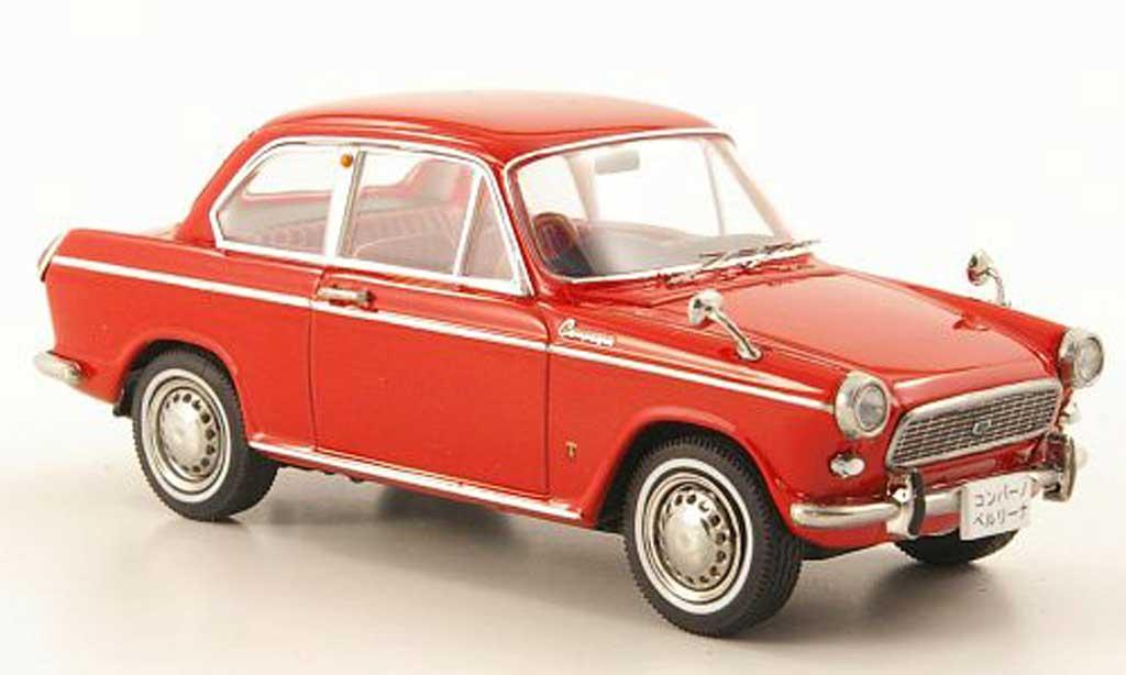 Daihatsu Compagno 1/43 Ebbro Berlina 800 rouge miniature