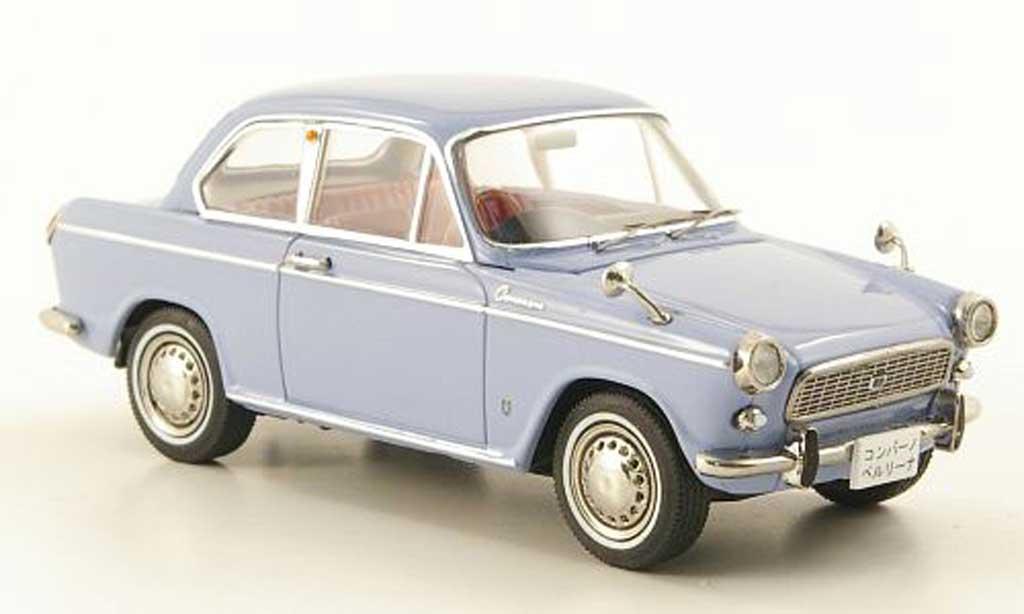 Daihatsu Compagno 1/43 Ebbro Berlina 800 bleu miniature