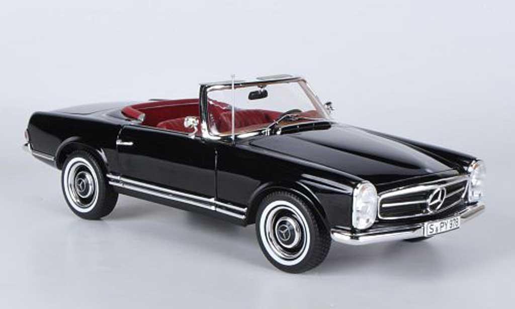 mercedes 230 sl w113 black 1967 norev diecast model car 1 18 buy sell diecast car on. Black Bedroom Furniture Sets. Home Design Ideas