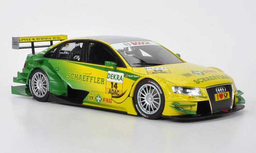 Audi A4 DTM 1/18 Norev No.14 Sport Team Phoenix M.Tomczyk -Saison 2011