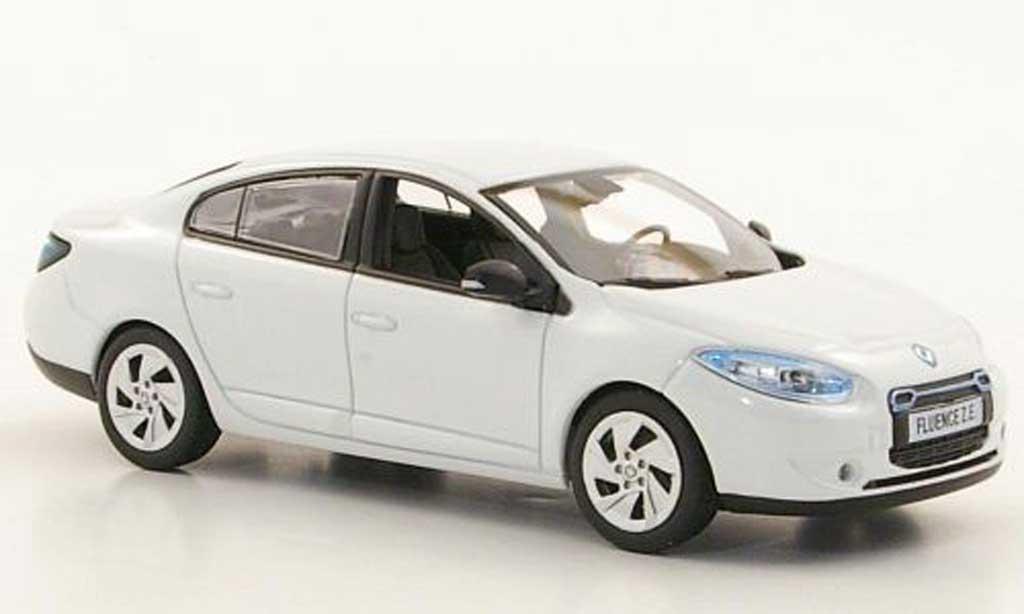 Renault Fluence 1/43 Norev ZE blanche 2011 miniature