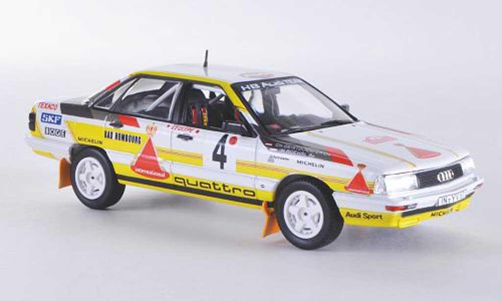 Audi 200 1/43 Norev quattro No.4 HB Team Audi W.Rohrl / Ch.Geistdorfer Rally Monte Carlo 1987 miniature
