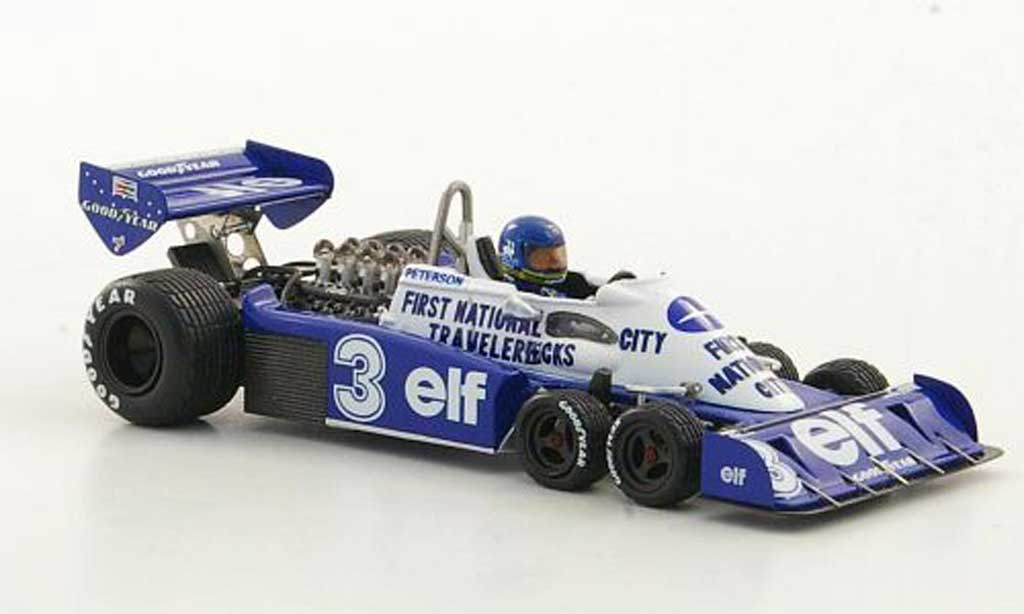 Tyrrell P34 1/43 TrueScale Miniatures No.3 elf R.Peterson GP Belgien 1977 miniature