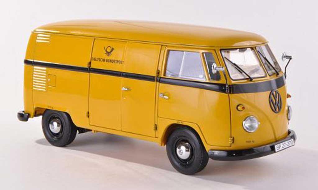 Volkswagen T1 1/18 Schuco Kasten Deutsche Bundespost miniature