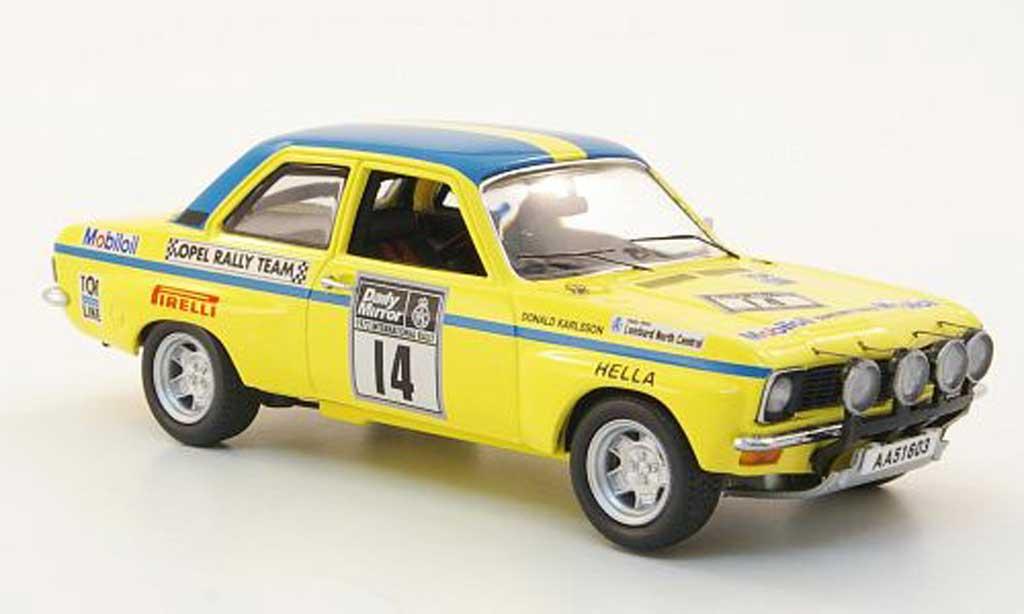 Opel Ascona A 1/43 Schuco No.14Rally Grossbritannien 1972 miniature