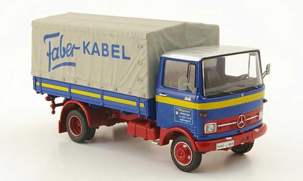 Mercedes LP 608 1/43 Schuco Pritsche/Plane Kleigrewe - Faber-Kabel miniature