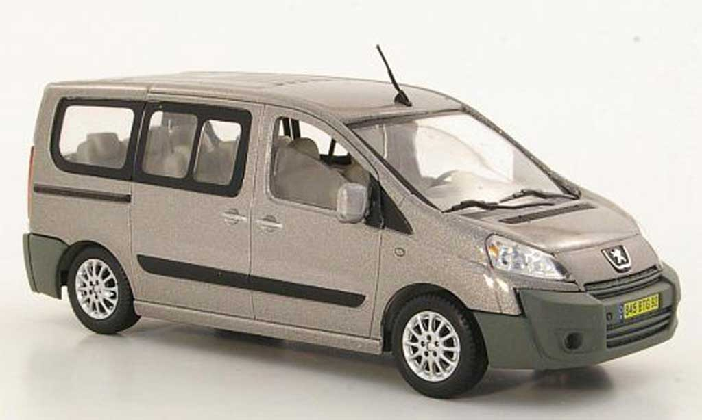 peugeot expert tepee gray 2007 solido diecast model car 1. Black Bedroom Furniture Sets. Home Design Ideas