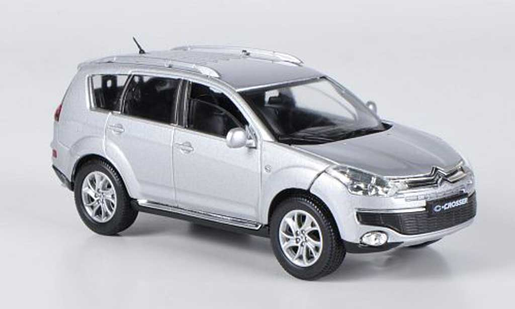 Citroen C Crosser 1/43 Solido  grise  2007 miniature