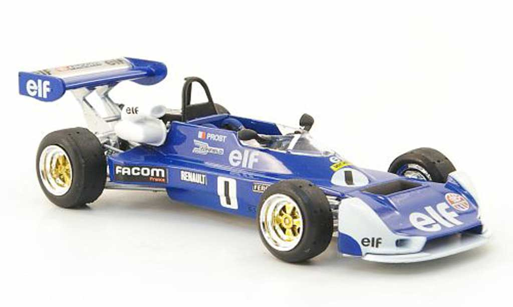 Renault F1 1977 1/43 Solido MK 20 No.1 A.Prost Formel miniature