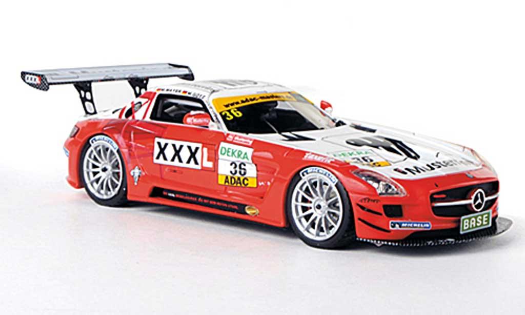 Mercedes SLS 1/43 Schuco AMG GT3 No.36 Musterring - MS Racing M.Mayer / M.Gotz ADAC GT Masters-Saison 2011 miniature