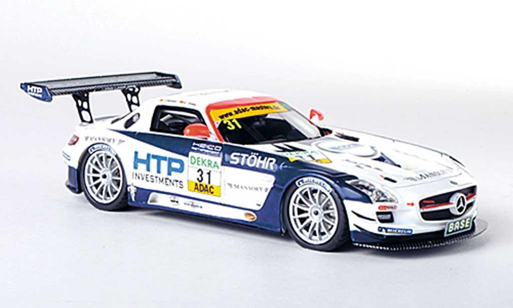 Mercedes SLS 1/43 Schuco AMG GT3 No.31 Heico Motorsport T.Holzer / C.Tilke ADAC GT Masters-Saison 2011 miniature