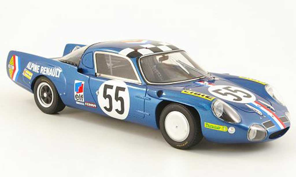 Alpine A210 1/18 Ottomobile no.55 andruet/nicolas 24h le mans 1968 diecast model cars