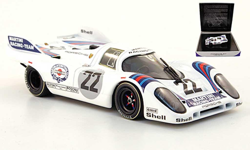 Porsche 917 1971 1/43 Minichamps No.22 Martini Marko/van Lennep 24h Le Mans miniature