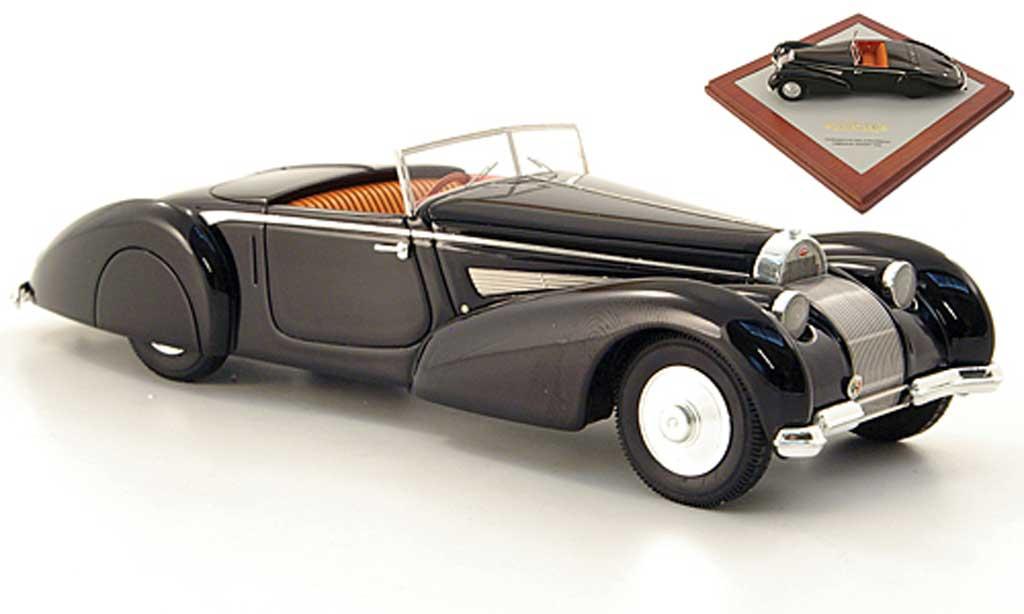 Bugatti 57 1/43 Luxcar Voll & Ruhrbeck Cabriolet noire offen 1939 miniature