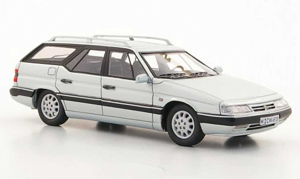 Citroen XM 1/43 Neo Break grise  limited edition 1994 miniature