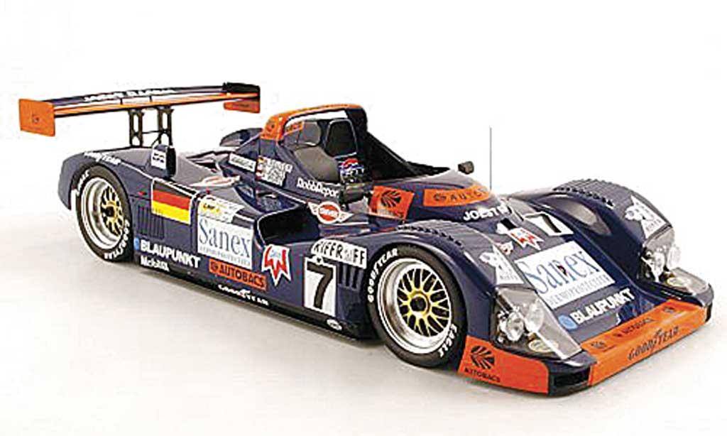 Porsche TWR 1/18 Spark WSC 95 Joest Racing No.7 D.Jones/M.Reuter/A.Wurz 24h Le Mans 1996 miniature