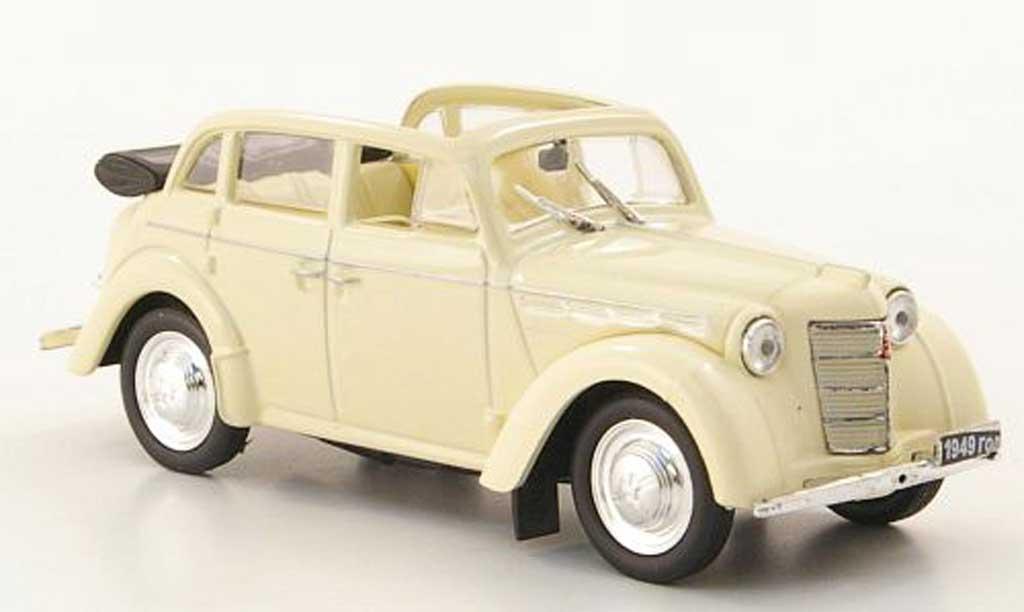 Moskwitsch 400-420 1/43 Nash Avtoprom A Cabriolimousine beige miniature