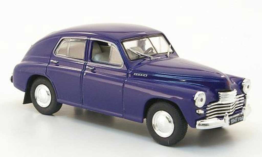 gaz 20 miniature pobeda bleu nash avtoprom 1 43 voiture. Black Bedroom Furniture Sets. Home Design Ideas
