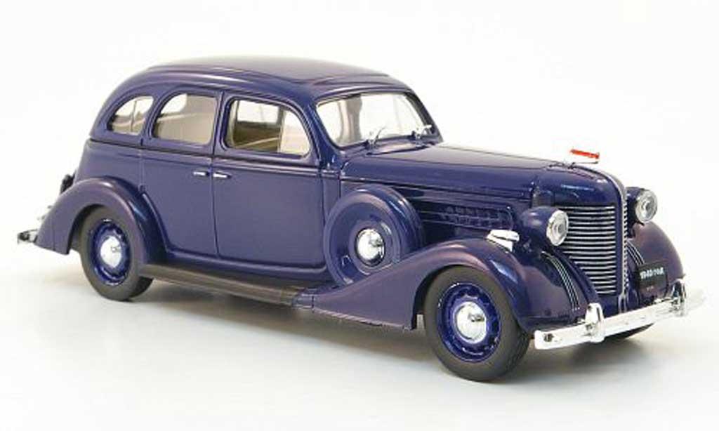 Zis 101 1/43 Nash Avtoprom A bleu miniature