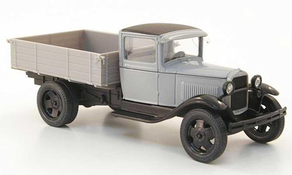 Gaz AA 1/43 Nash Avtoprom Pritsche grise miniature