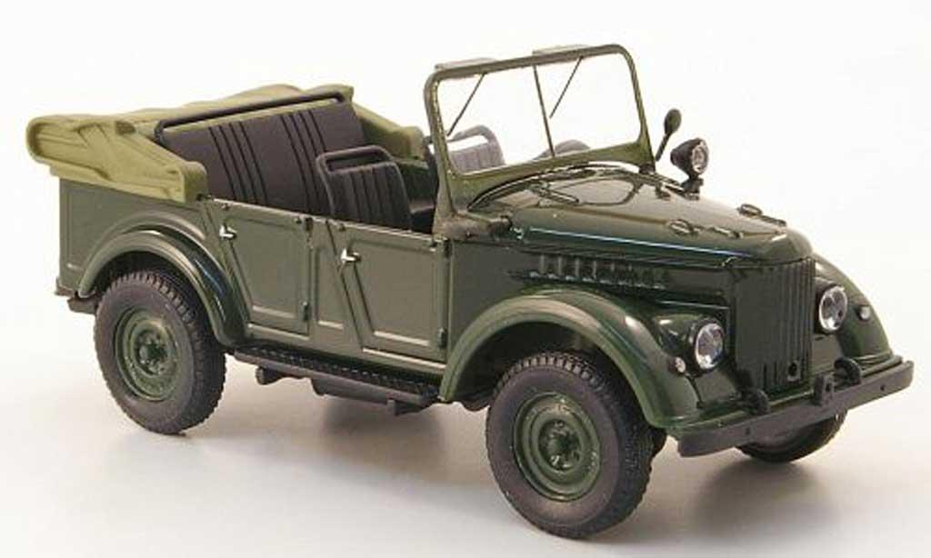 Gaz 69A 1/43 Nash Avtoprom grun offen miniature