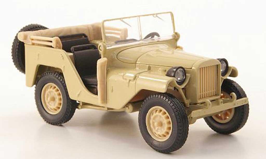 Gaz 64 1/43 Nash Avtoprom sand miniature