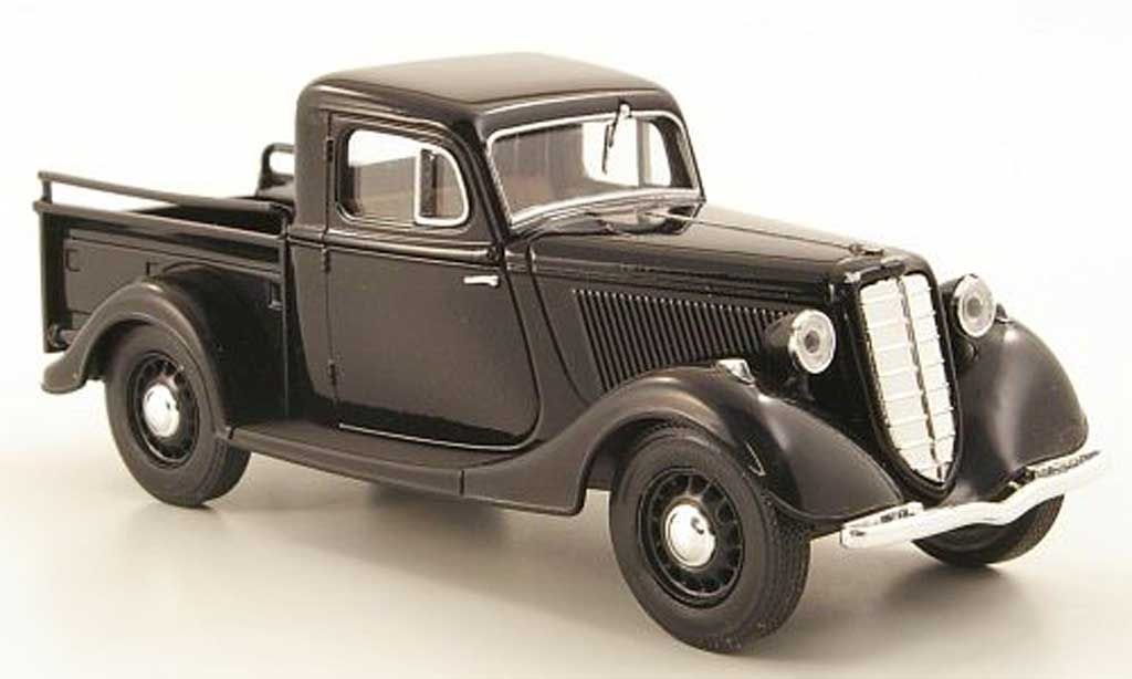 gaz m415 miniature pick up noire nash avtoprom 1 43. Black Bedroom Furniture Sets. Home Design Ideas