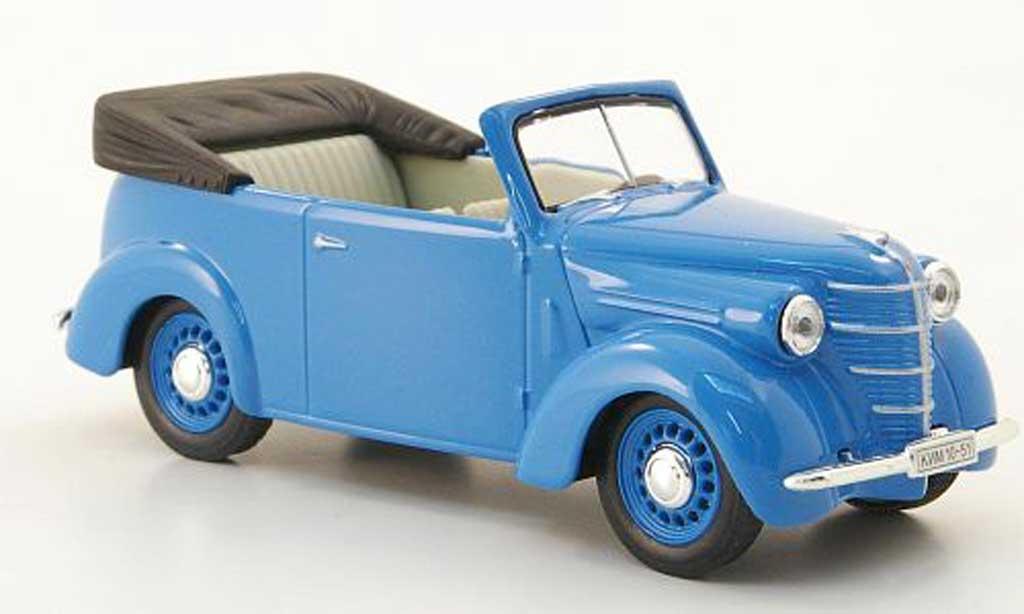 Kim 10-51 1/43 Nash Avtoprom Cabriolet bleu modellautos