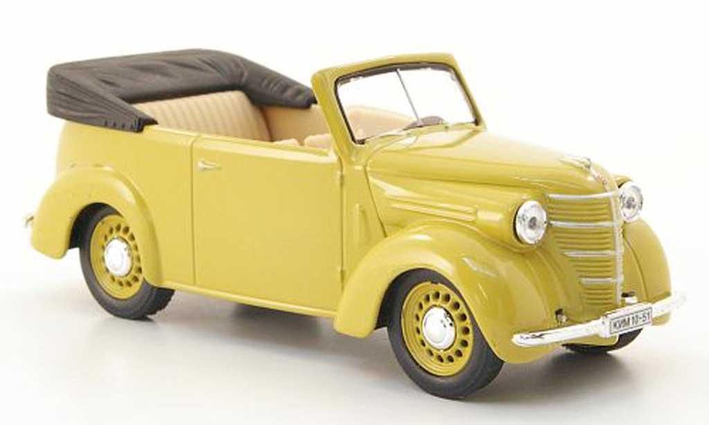Kim 10-51 1/43 Nash Avtoprom Cabriolet beige miniature