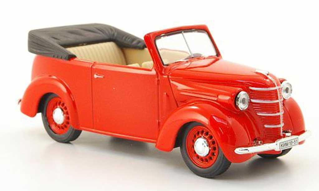 Kim 10-51 1/43 Nash Avtoprom Cabriolet rot modellautos