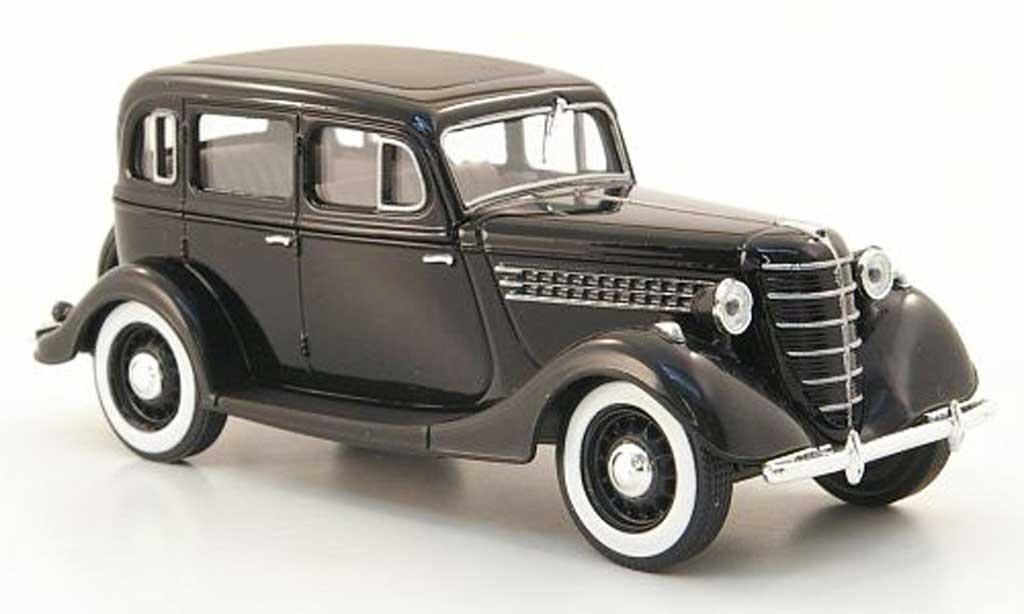 Gaz 11-73 1/43 Nash Avtoprom noire miniature