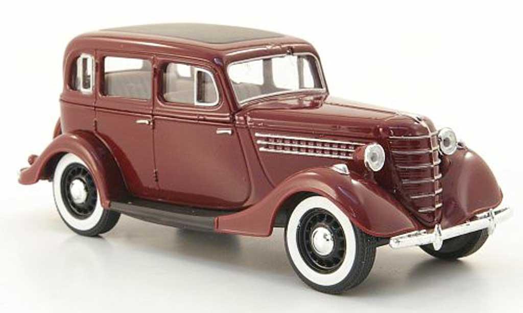 Gaz 11-73 1/43 Nash Avtoprom rouge miniature