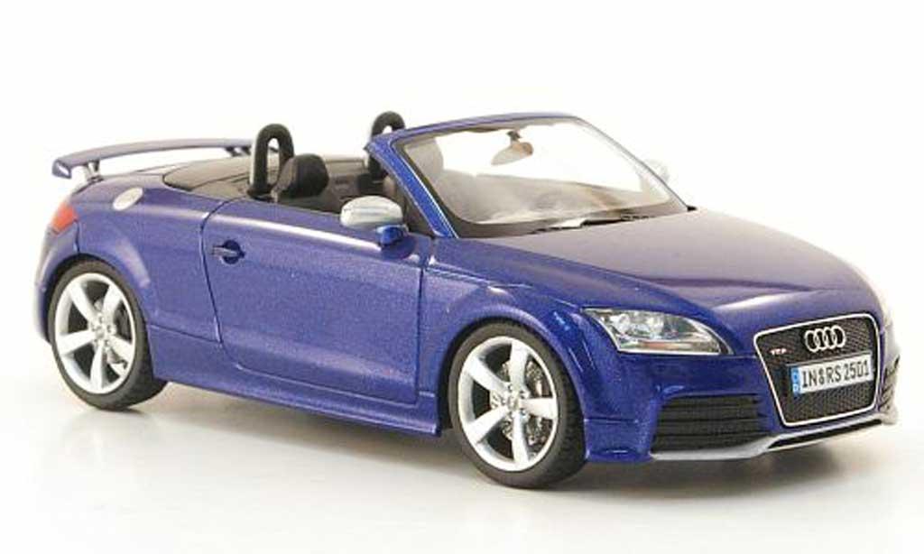 audi tt roadster miniature rs bleu 2009 schuco 1 43 voiture. Black Bedroom Furniture Sets. Home Design Ideas