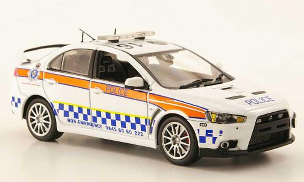 Mitsubishi Lancer Evolution X 1/43 Model Icons Humberside Road Crime Unit miniature