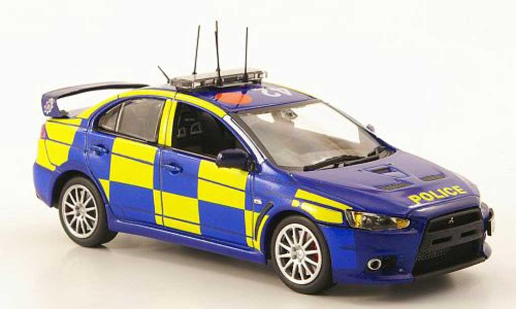 Mitsubishi Lancer Evolution X 1/43 Model Icons Essex Police ANPR Intercept Unit miniature
