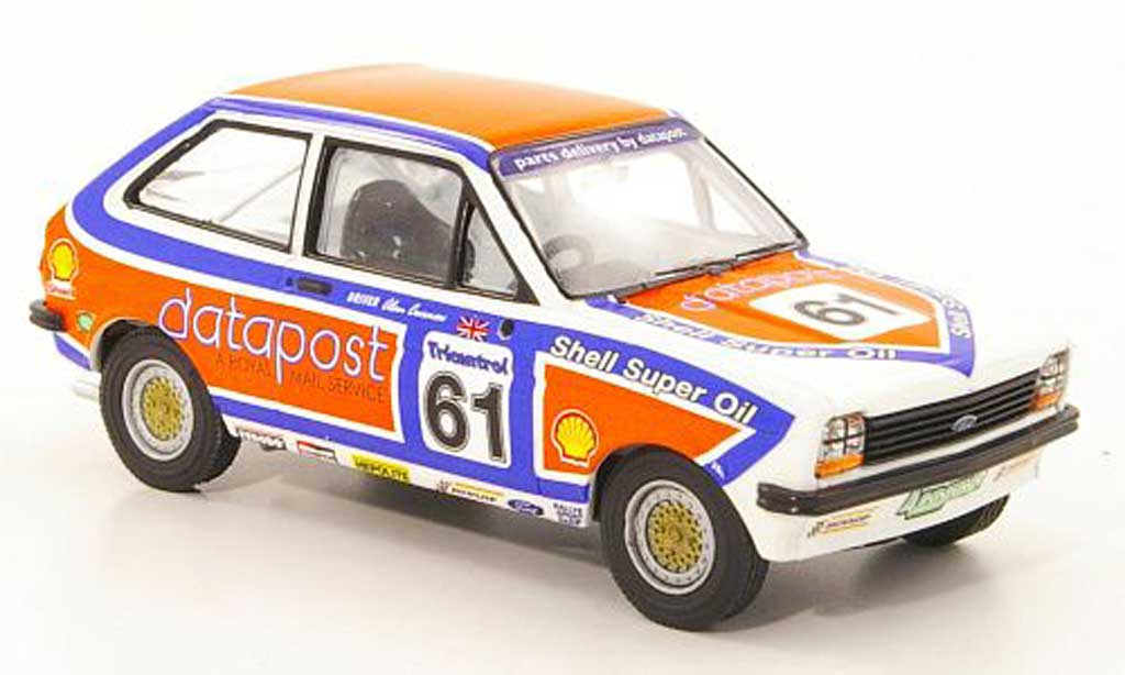 Ford Fiesta 1980 1/43 Vanguards MkI 1300 No.61 A.Curnow Datapost BSCC miniature