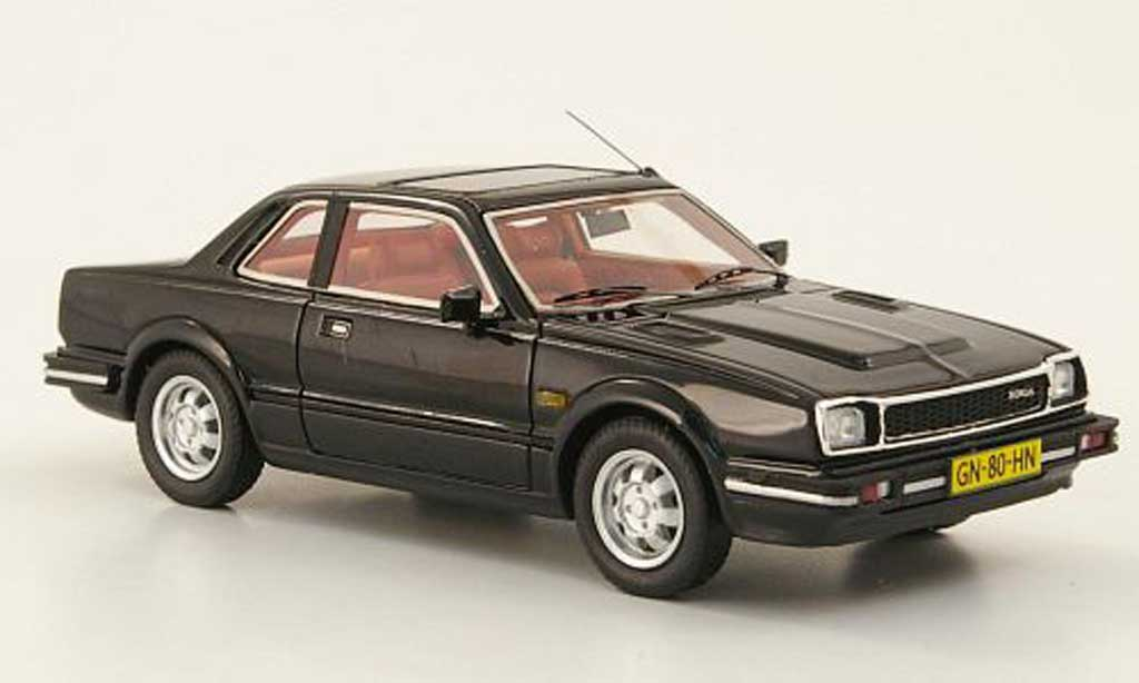 Honda Prelude 1981 1/43 Neo MKI noire miniature