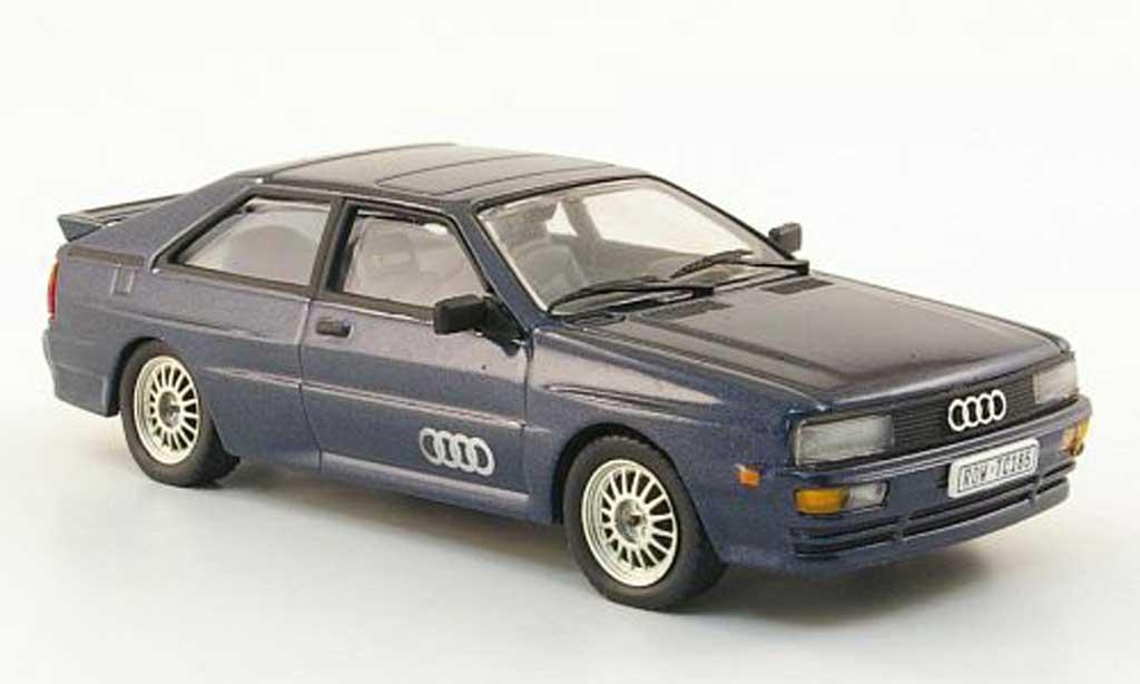 Audi Quattro 1/43 Vitesse Coupe bleu miniature