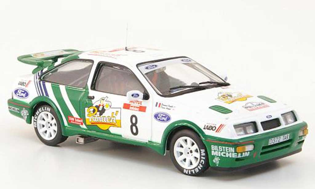 Ford Sierra Cosworth RS 1/43 Hachette No.8 Panach Tour de Corse 1988 miniature