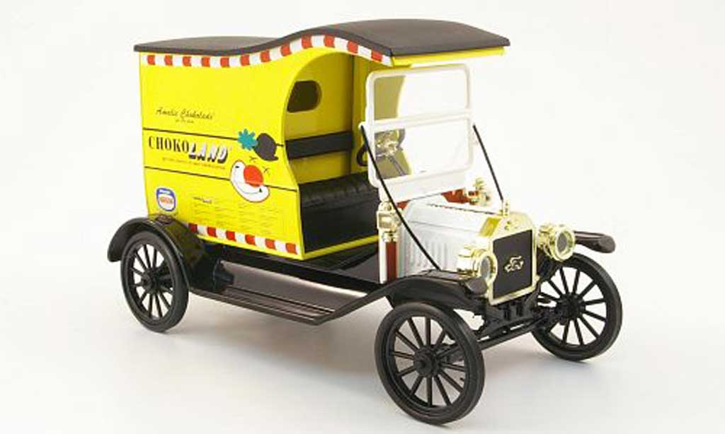 Ford Model T 1/18 Eagle delivery van chokoland miniature
