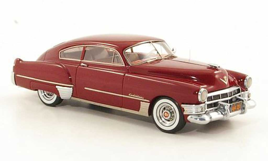 Cadillac Serie 62 1949 1/43 Neo Club Coupe Sedanet rouge miniature