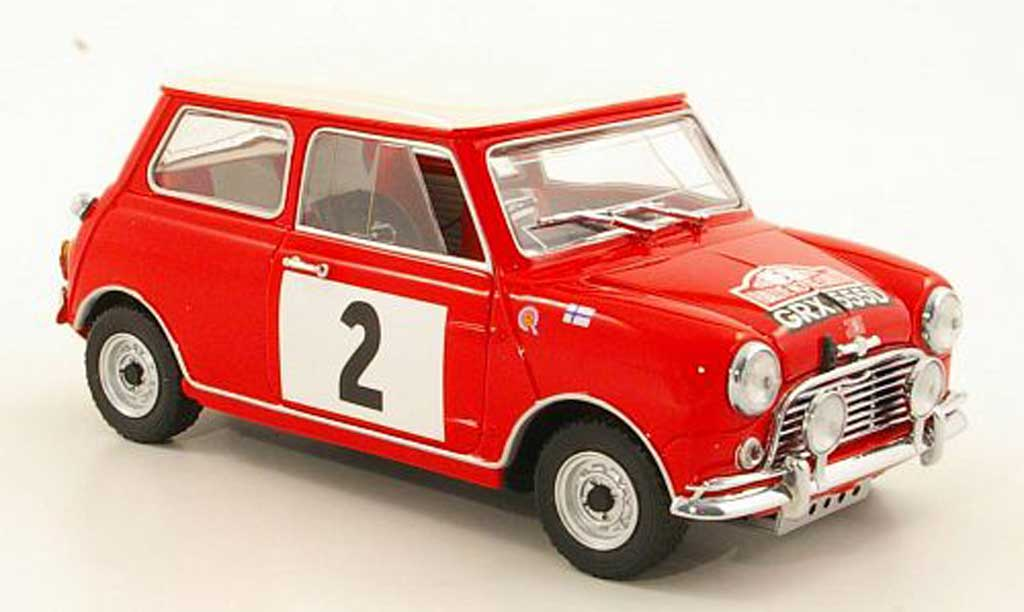 Austin Mini Rallye 1/18 Kyosho 1275S No.2 Rally Monte Carlo 1966 miniature