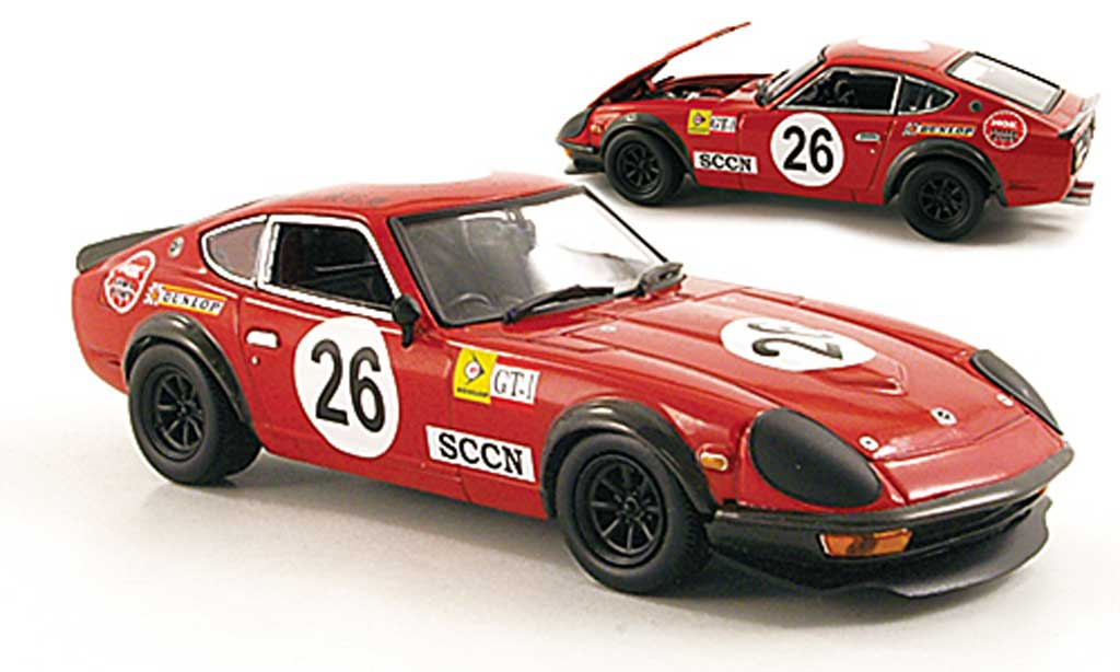 Datsun 240Z 1/43 Kyosho Sport Racing No.26 1000 Km Japan 1972 miniature