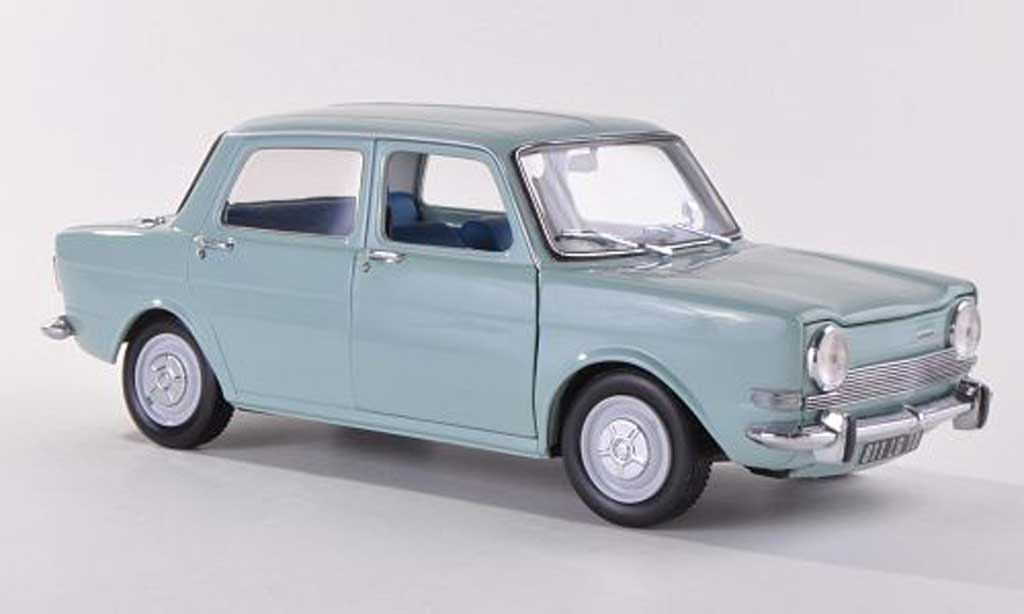 Simca 1000 1/18 Norev LS blue 1974 diecast model cars
